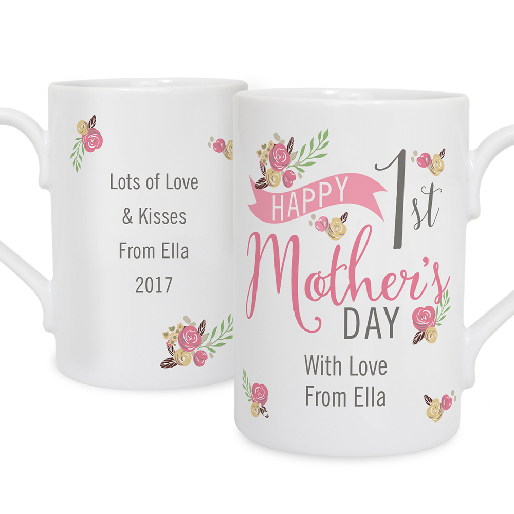 Picture of Personalised 1st Mother's Day Mug