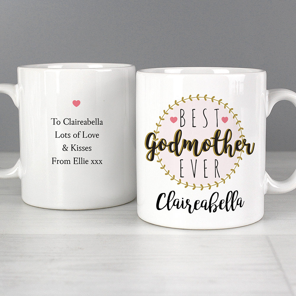 Picture of Personalised Best Godmother Mug