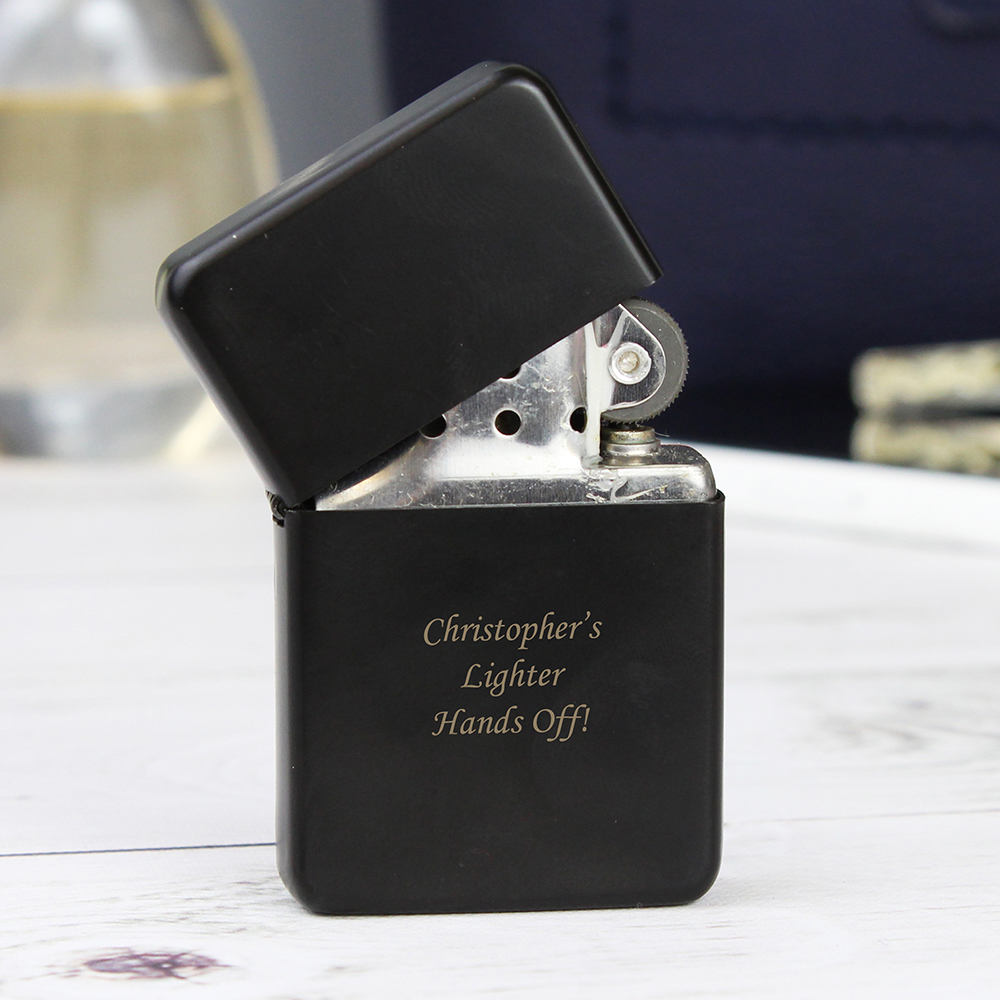 Picture of Personalised Black Lighter