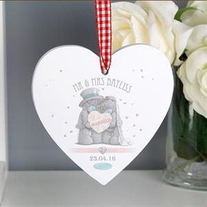 Picture of Personalised Me To You Wedding Heart Decoration