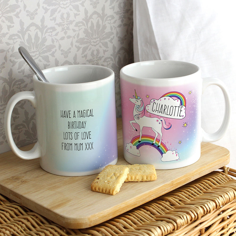 Picture of Personalised Unicorn Mug