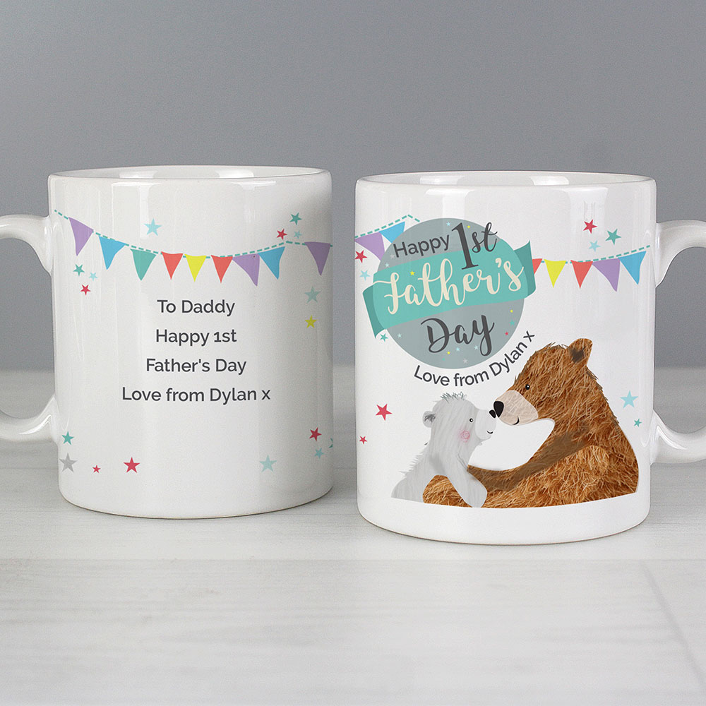 Picture of Personalised 1st Father's Day Daddy Bear Mug