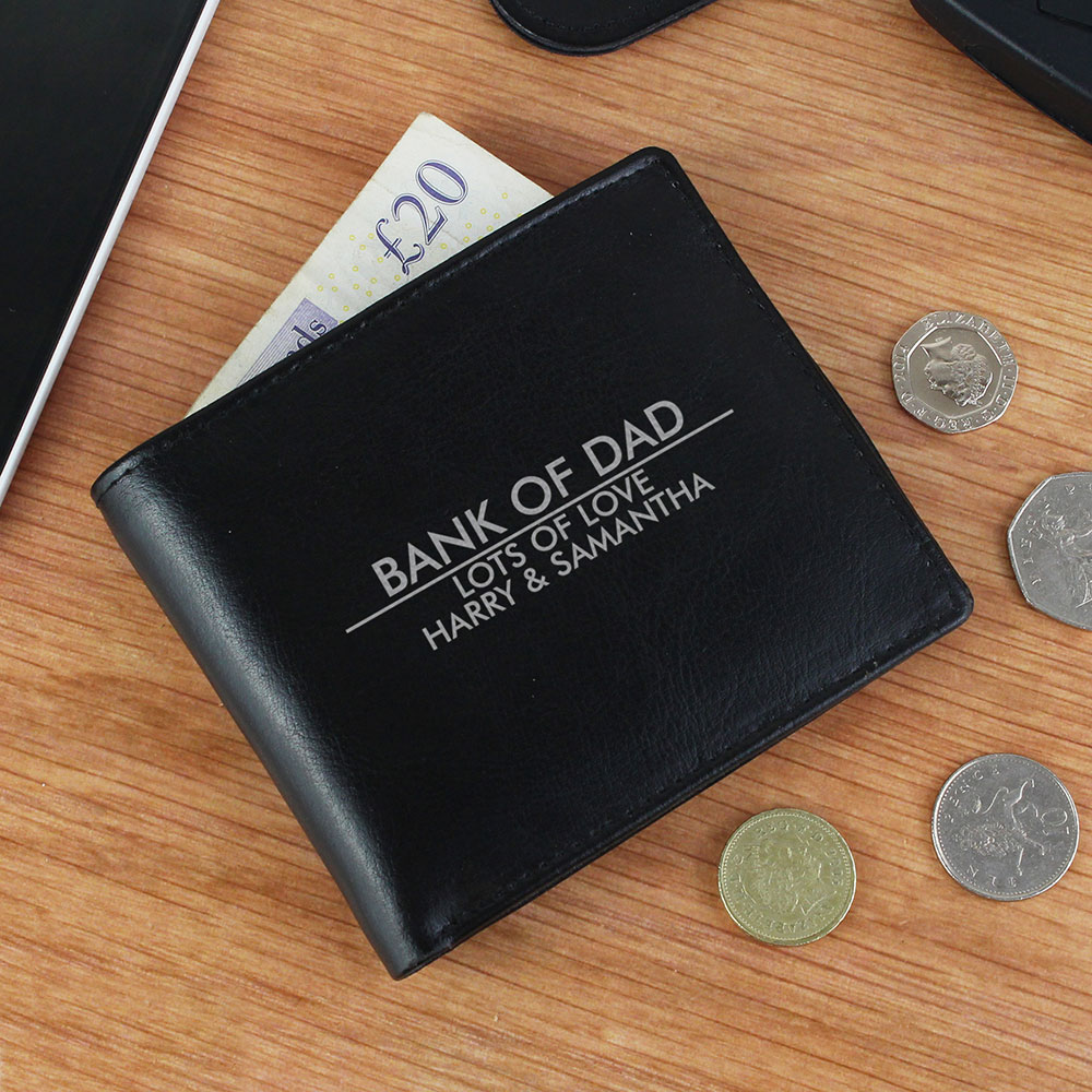Picture of Personalised Classic Leather Wallet