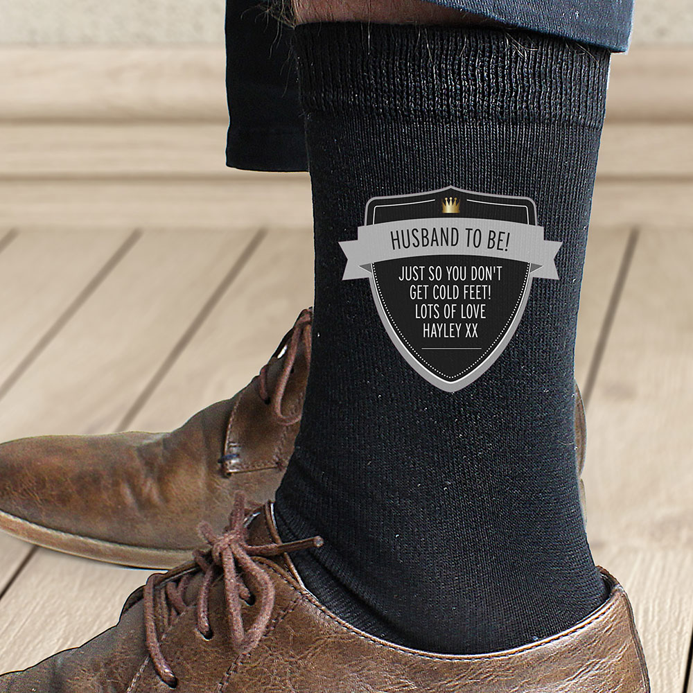 Picture of Personalised Classic Shield Men's Socks
