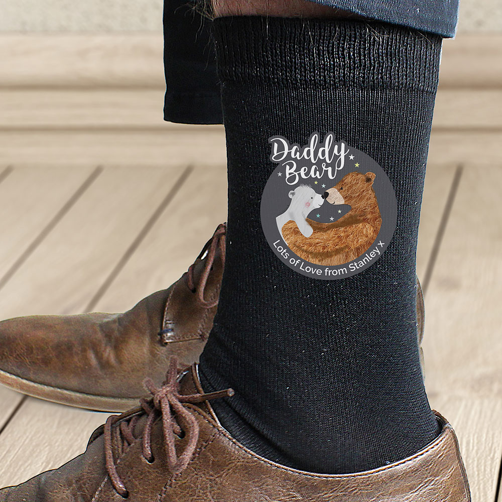 Picture of Personalised Daddy Bear Men's Socks