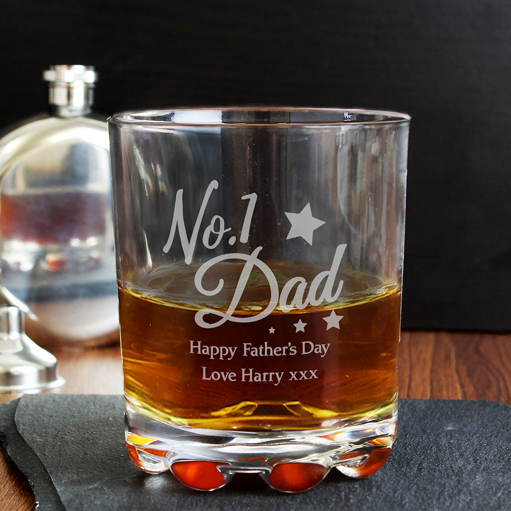 Picture of Personalised No.1 Dad Tumbler