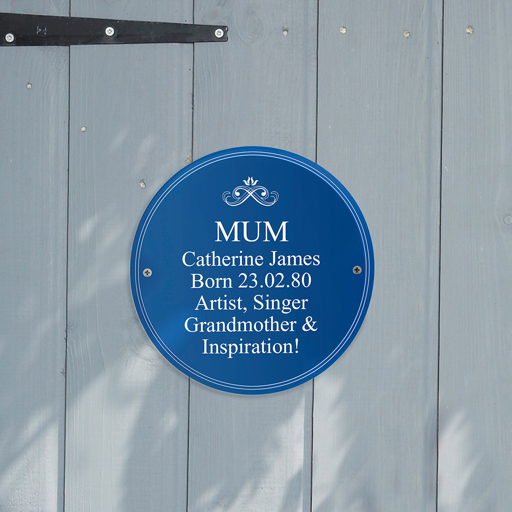 Picture of Personalised Heritage Plaque