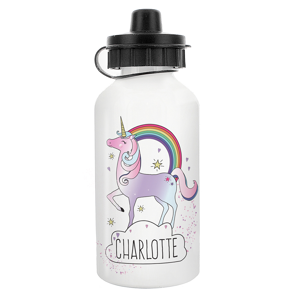 Picture of Personalised Unicorn Drinks Bottle