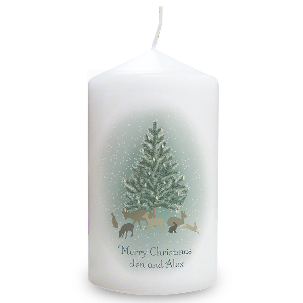 Picture of Personalised A Winter's Night Candle