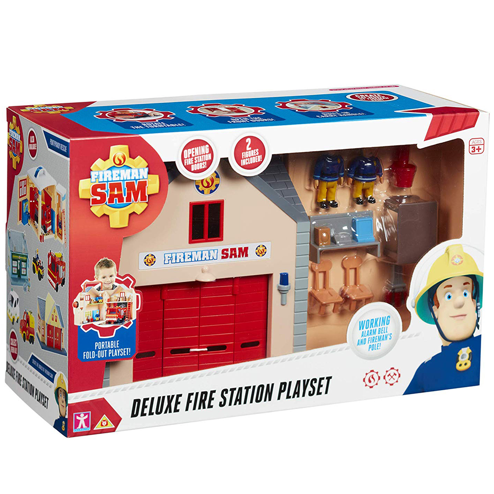 Picture of Fireman Sam: Deluxe Fire Station Playset