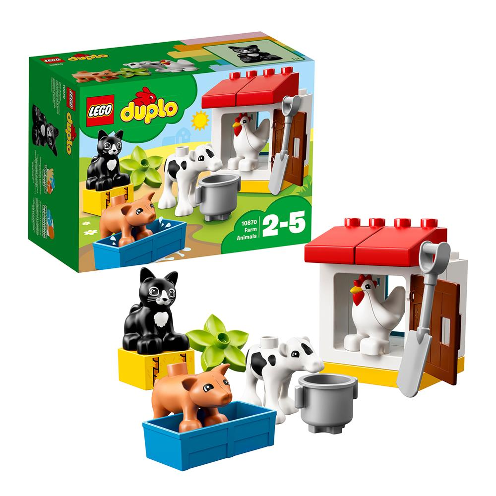 Picture of LEGO DUPLO Town Farm Animals 10870