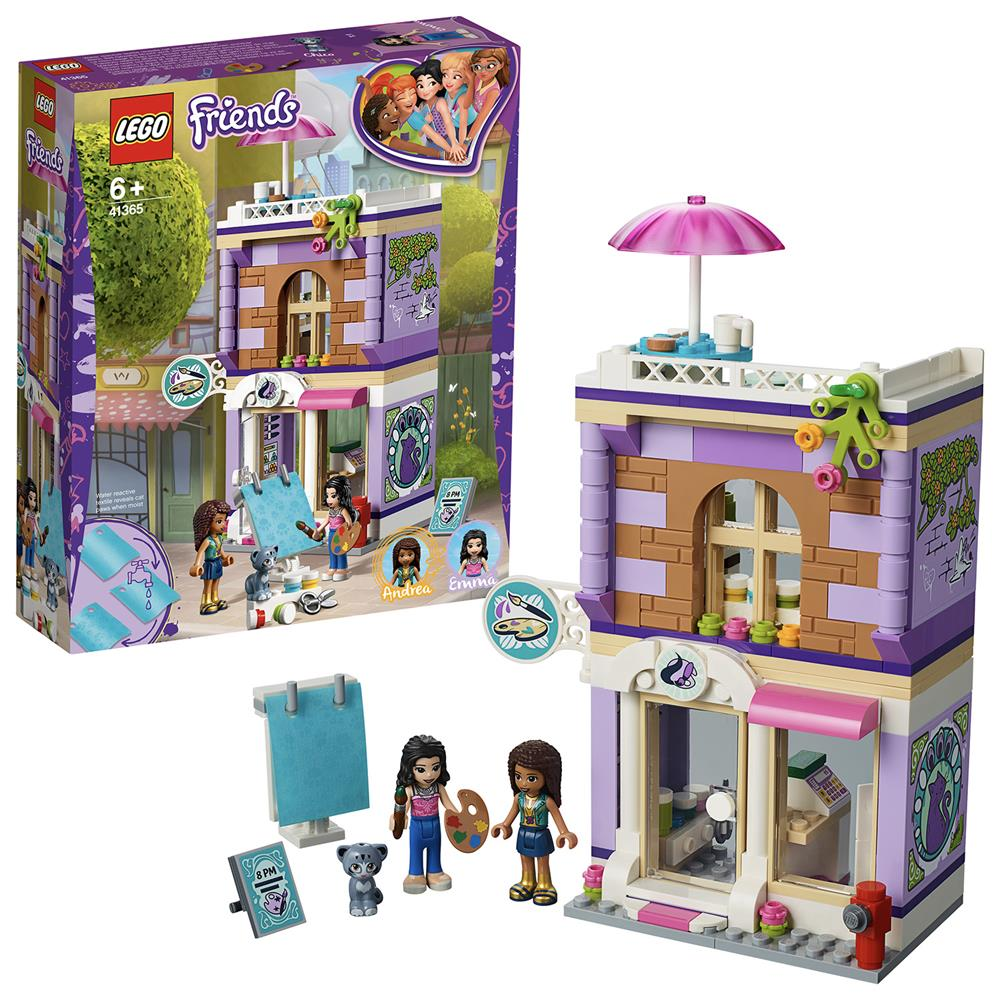 Picture of LEGO Friends Emma's Art Studio 41365