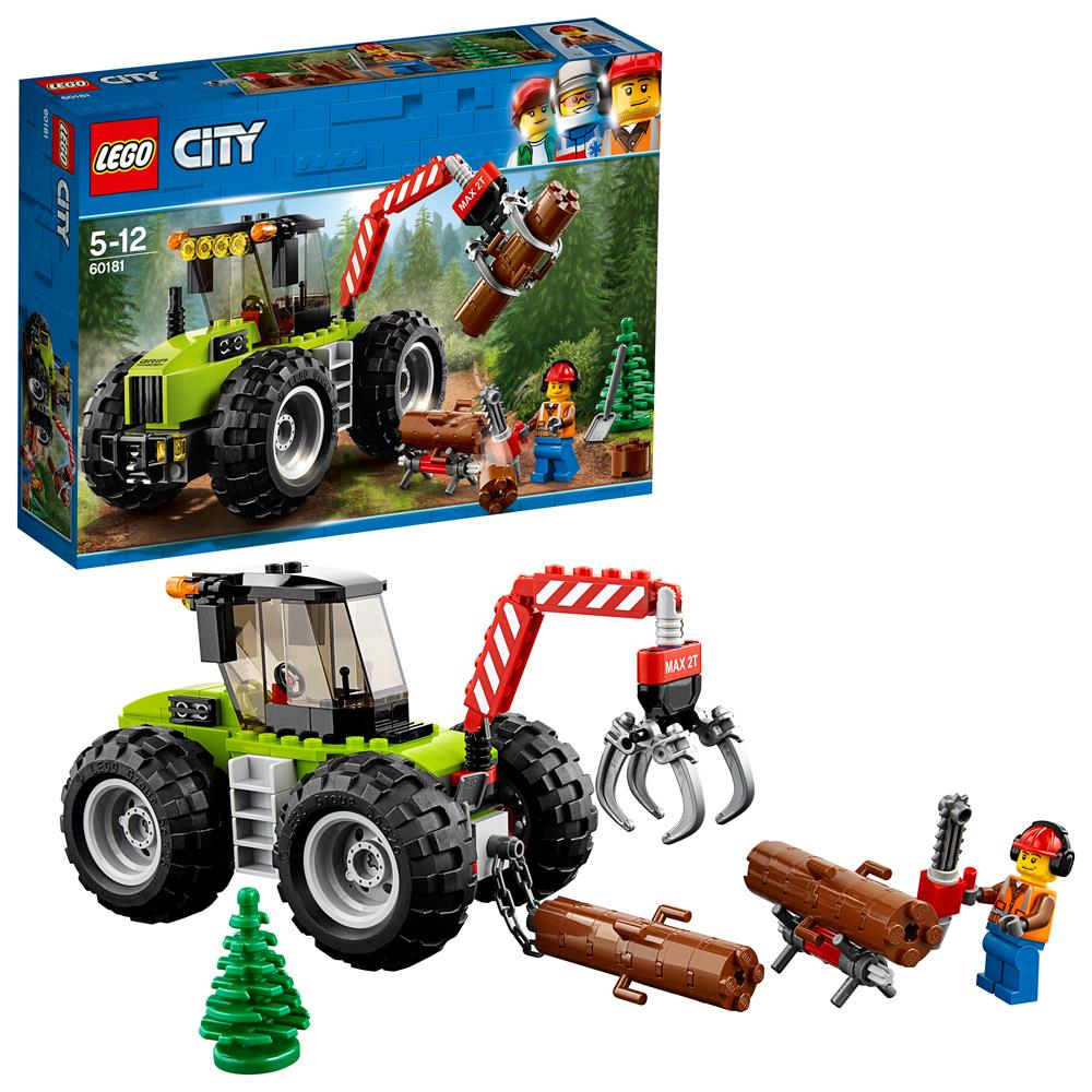 Picture of LEGO City Great Vehicles Forest Tractor 60181