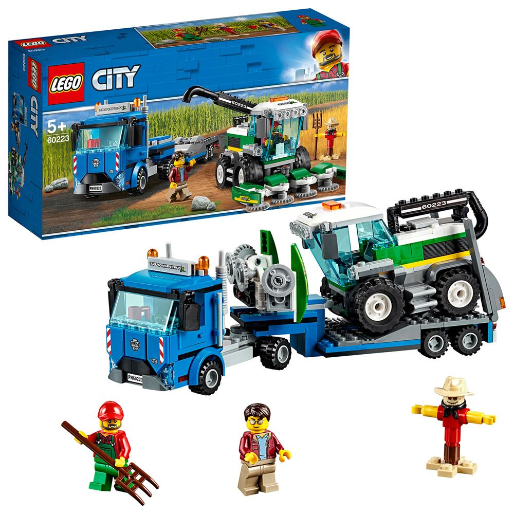 Picture of LEGO City Great Vehicles Harvester Transport 60223