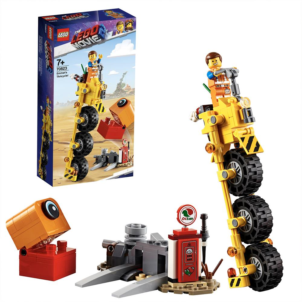 Picture of LEGO Movie Emmet's Thricycle! 70823