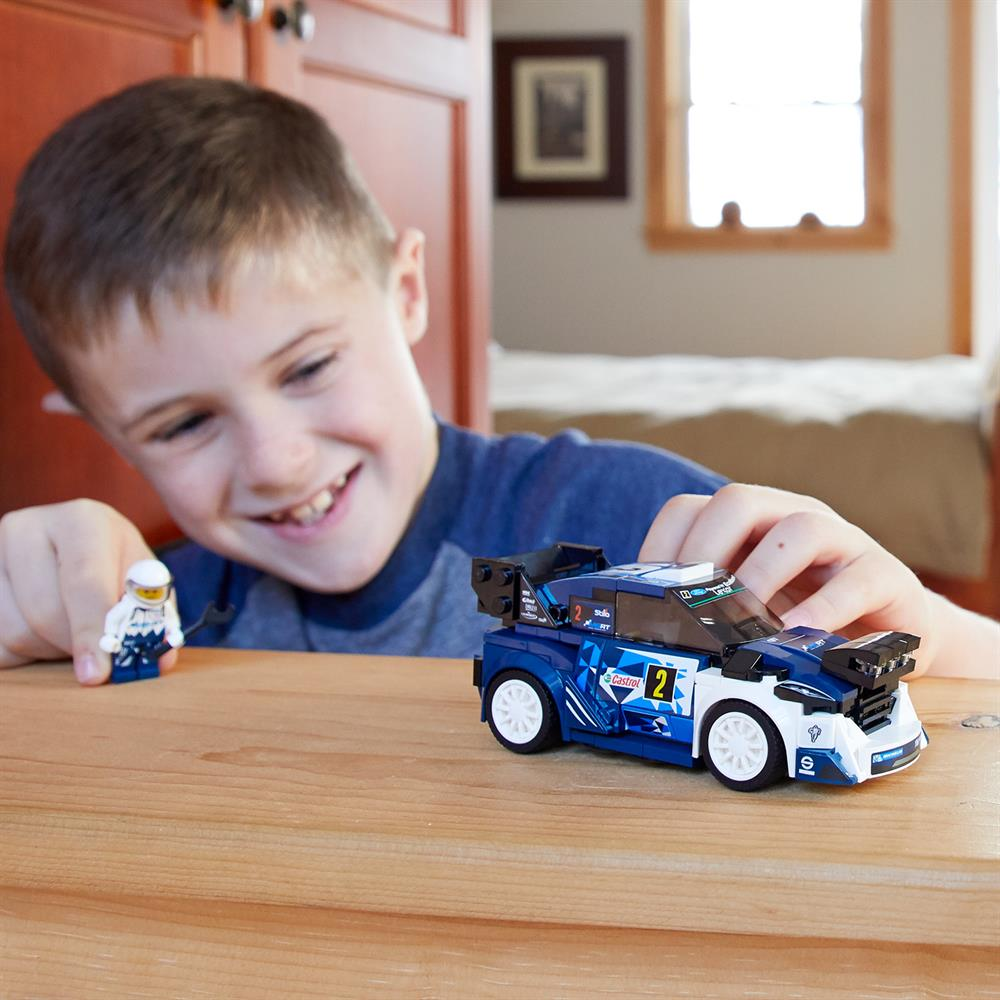 Picture of LEGO Speed Champions Ford Fiesta M-Sport WRC 75885
