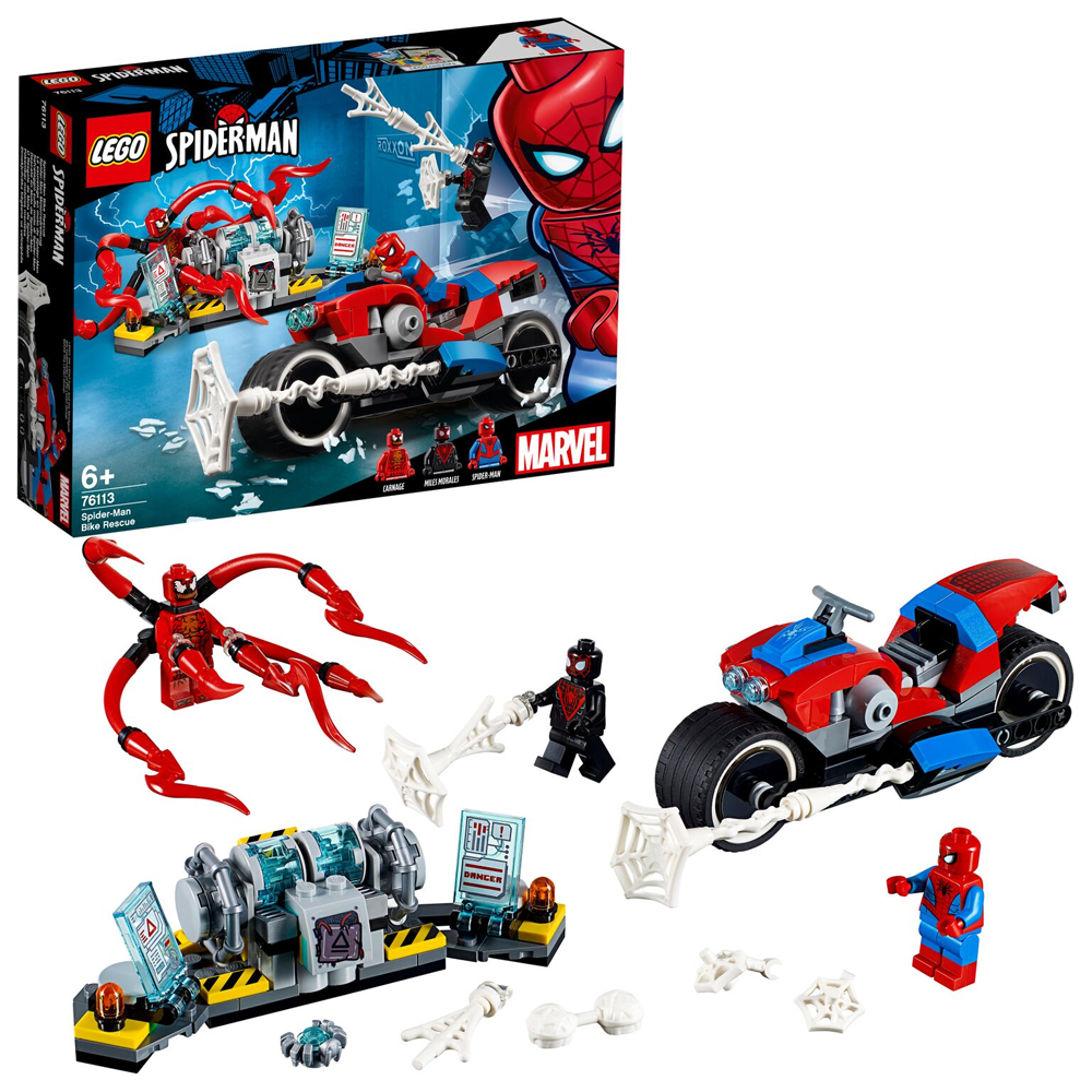 Picture of LEGO Super Heroes Spider-Man Bike Rescue 76113