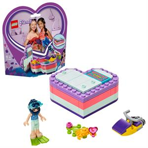 Picture of LEGO Friends Emma's Summer Heart Box 41385