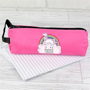 TRANSPARENT QUALITY DINORAWR ZIPPED PENCIL CASE POUCH MAKE UP STORAGE BAG GIFT