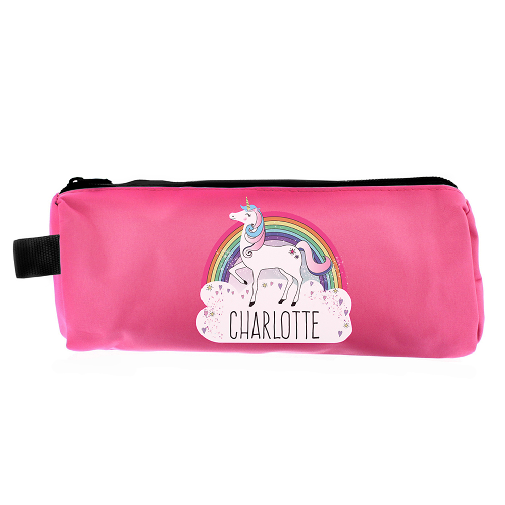 Picture of Personalised Unicorn Pink Pencil Case