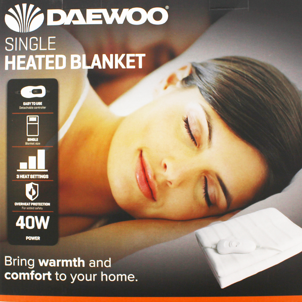Picture of Daewoo Heated Blanket (Single)