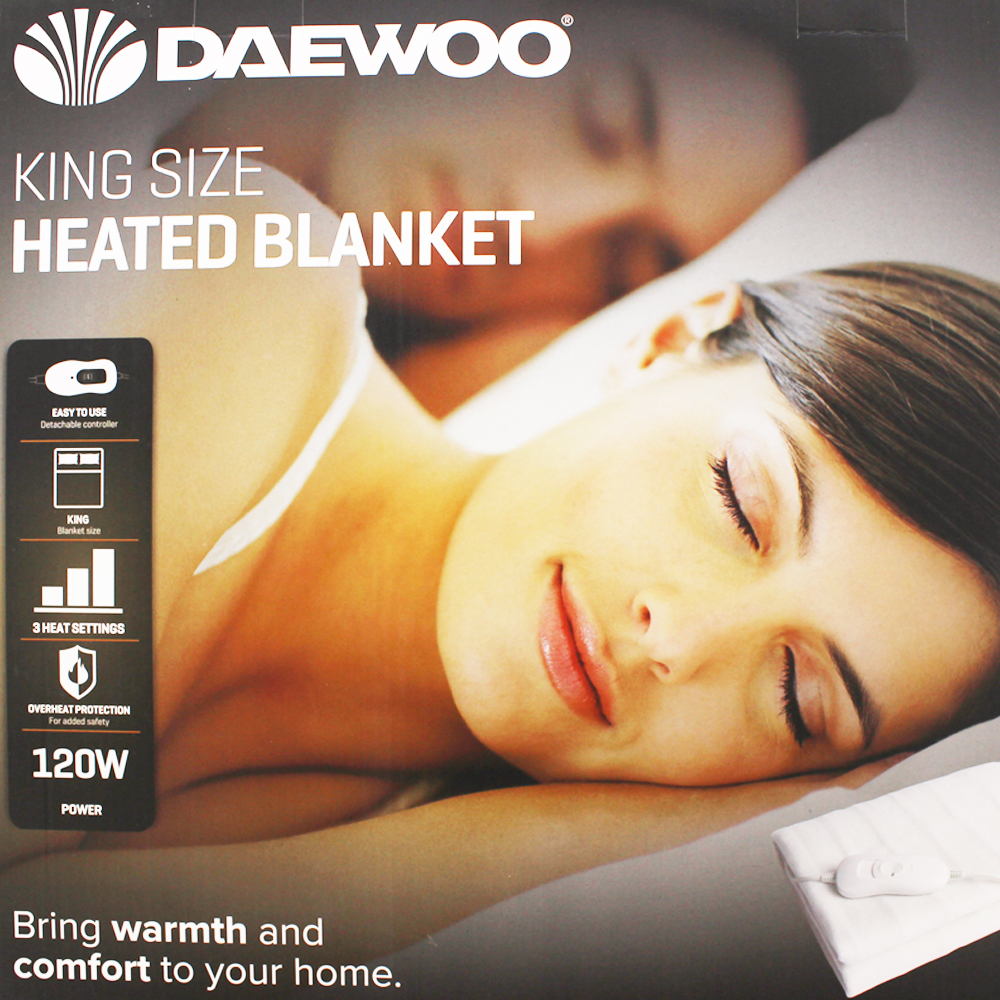 Picture of Daewoo Heated Blanket (King Size)