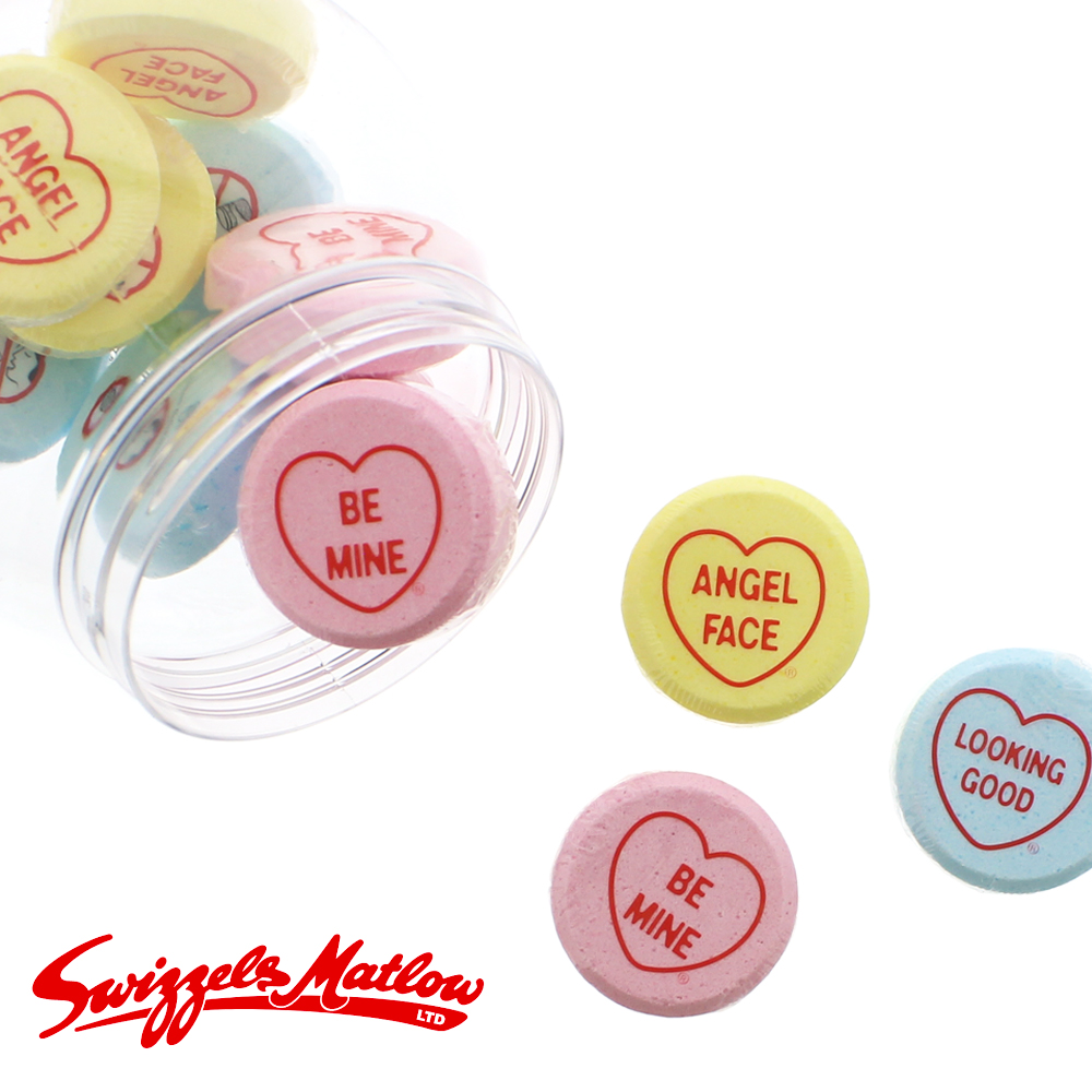 Picture of Swizzels Love Hearts Bath Fizzers 12x 30g