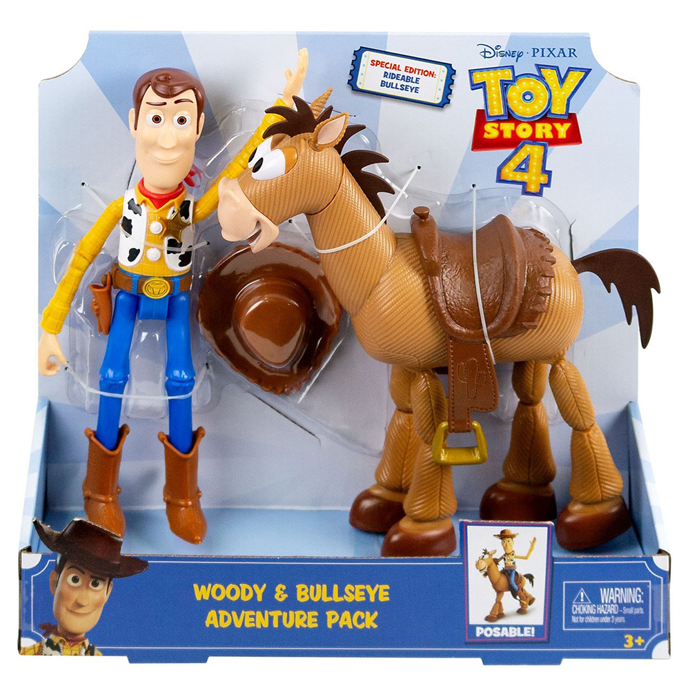 Picture of Toy Story 4 Woody & Bullseye Adventure Pack