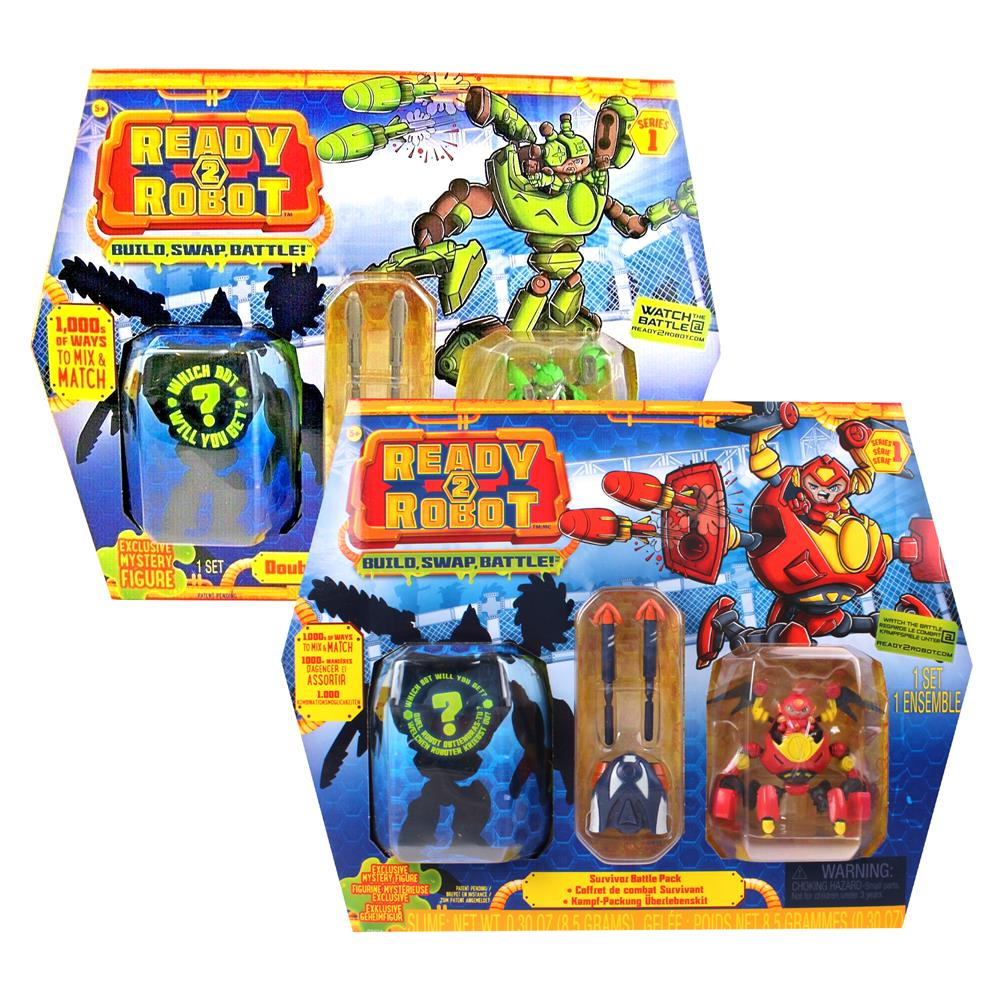 Picture of Ready to Robot: Survivor Battle Pack Assorted
