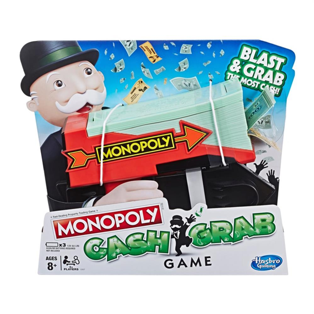 Picture of Monopoly Cash Grab Game