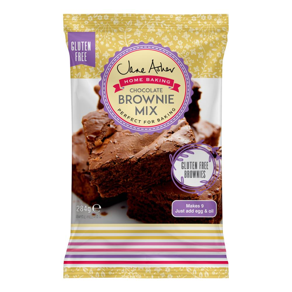 Picture of Jane Asher: Gluten Free Chocolate Brownie Mix (7 x 284g Bags)
