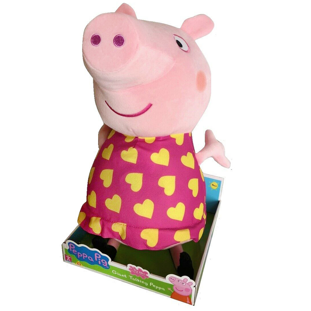 Picture of Peppa Pig Giant Talking Peppa Plush