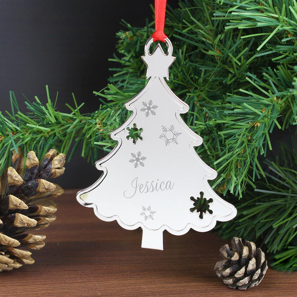 Picture of Personalised Engraved Tree Decoration