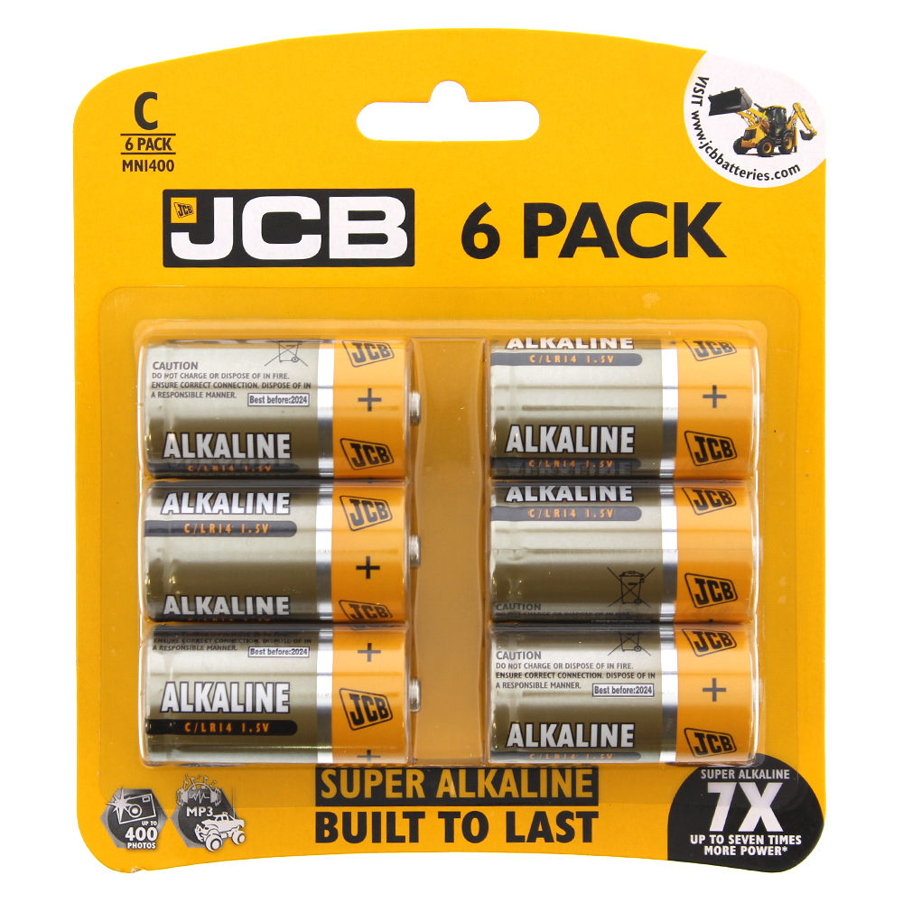 Picture of JCB C Batteries (6-Pack)