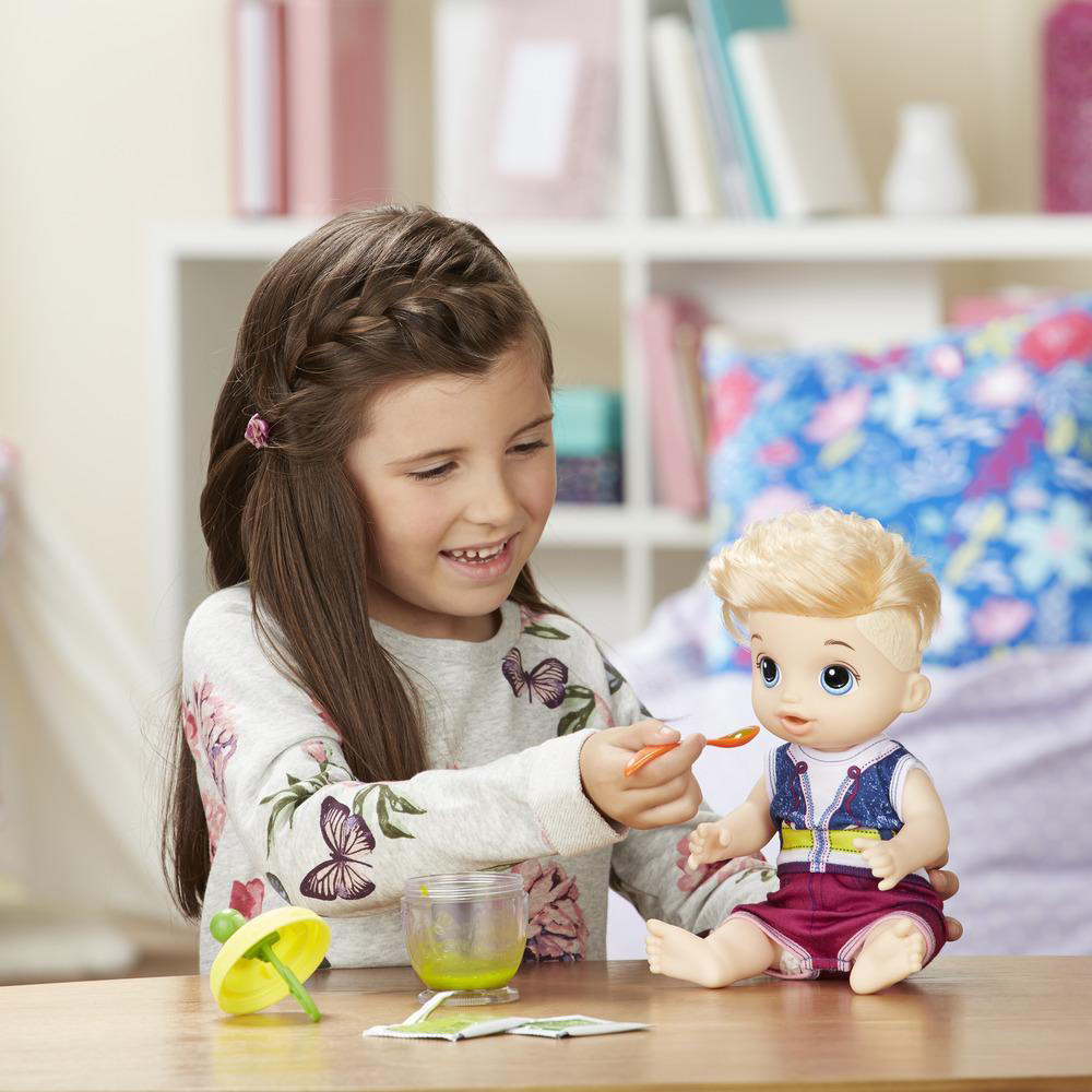 Buy Baby Alive Sweet Spoonfuls Baby Doll At Home Bargains