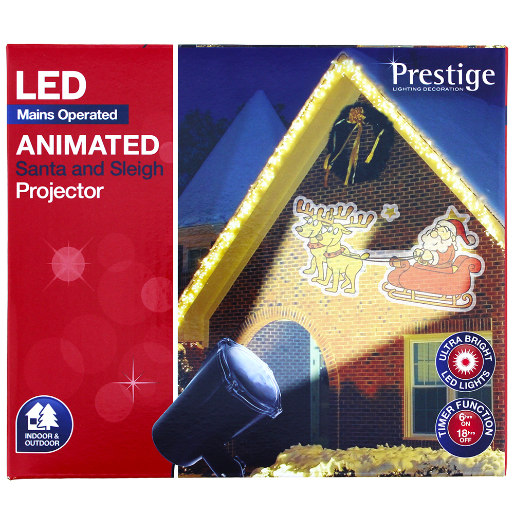 Picture of Prestige Lighting: Animated Santa and Sleigh Projector