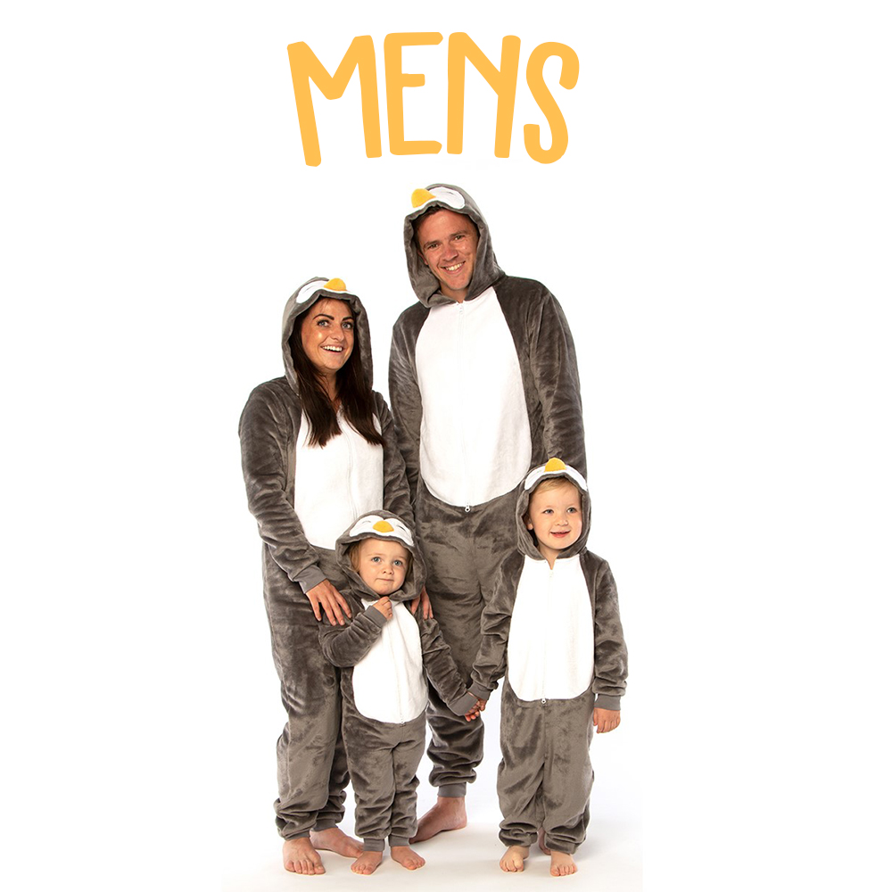 Picture of NSPCC Mens Penguin Onesie