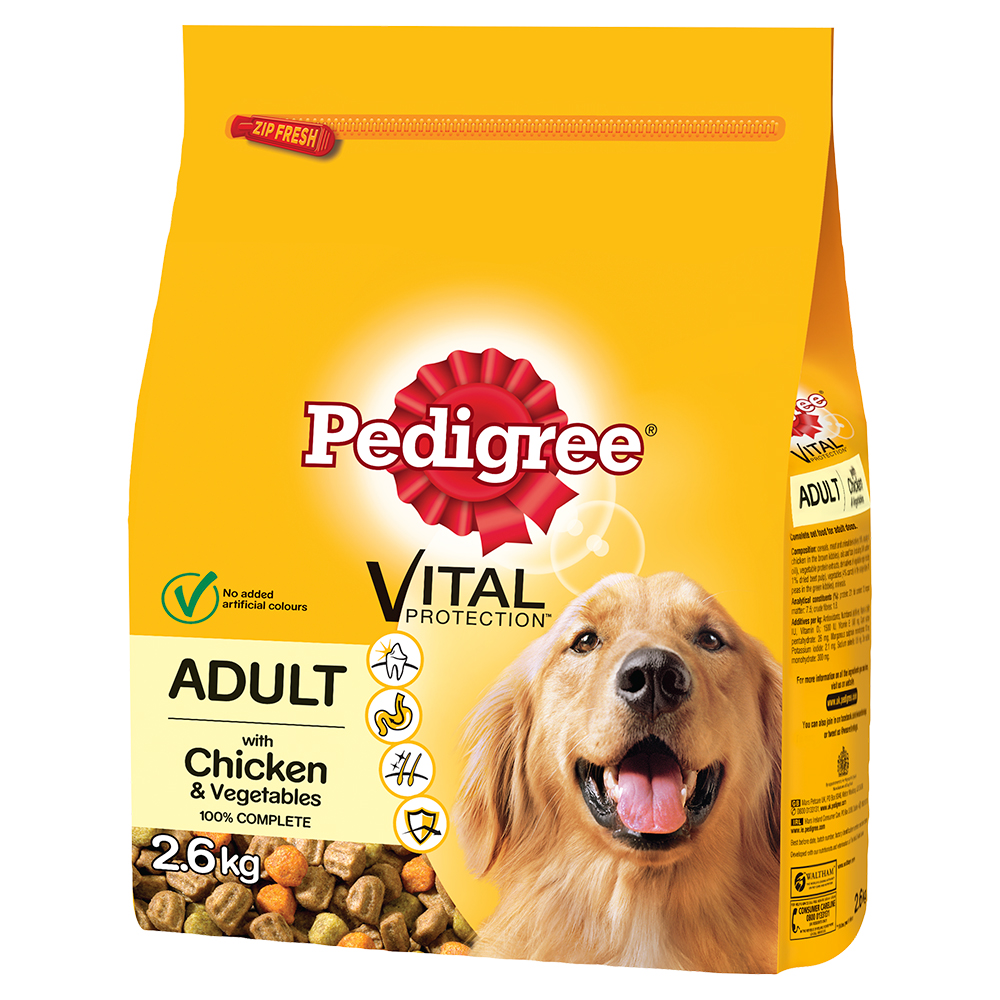 Picture of Pedigree Vital Protection Adult Chicken (3 x 2.6kg Bags)