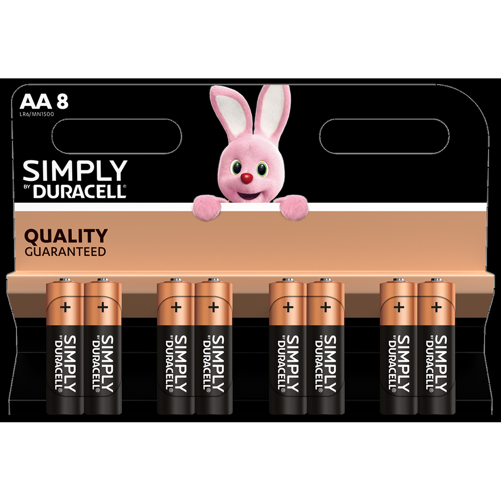 Picture of Duracell AA Batteries (8 Pack)