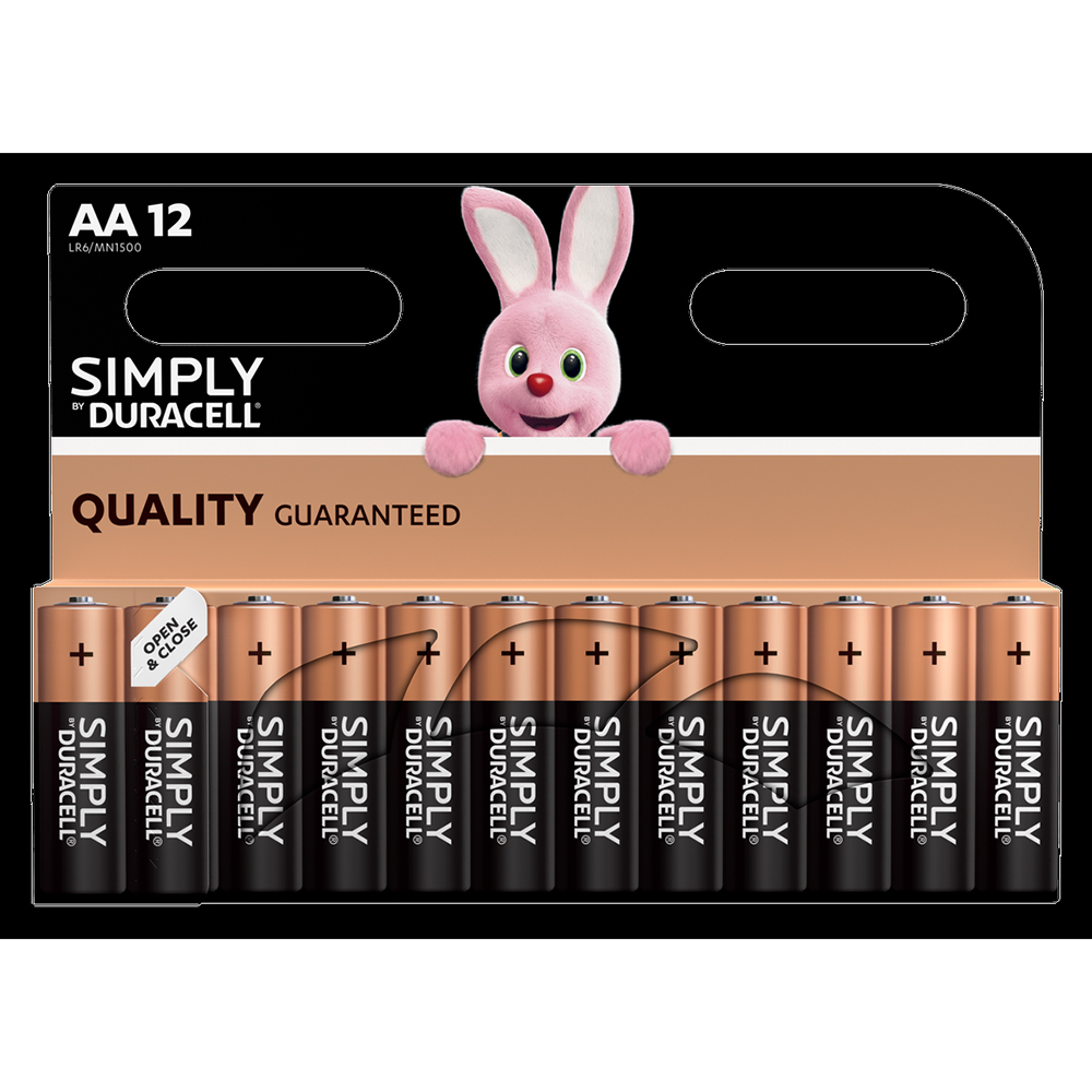 Picture of Duracell Simply AA Batteries (12 Pack)