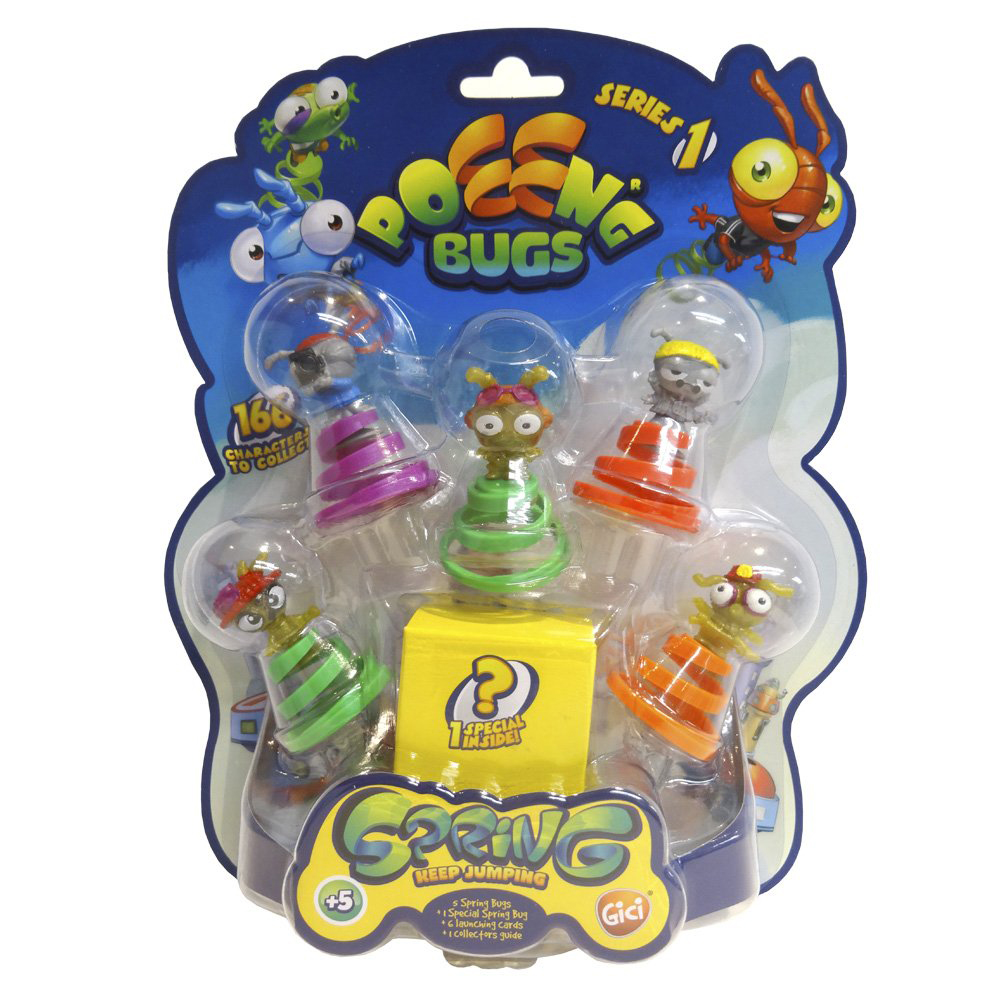 Picture of Poeeng Bugs Series 1 Spring Keep Jumping Pack