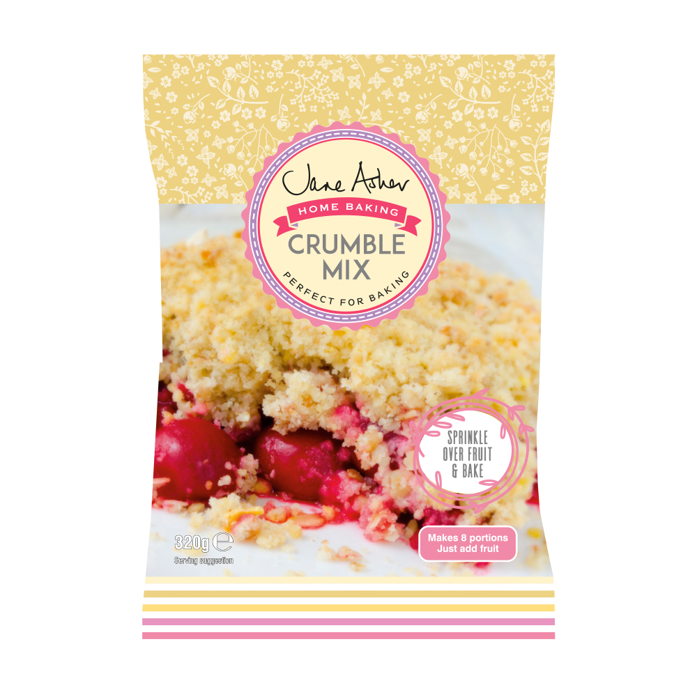 Picture of Jane Asher: Crumble Mix (7 x 320g Bag)