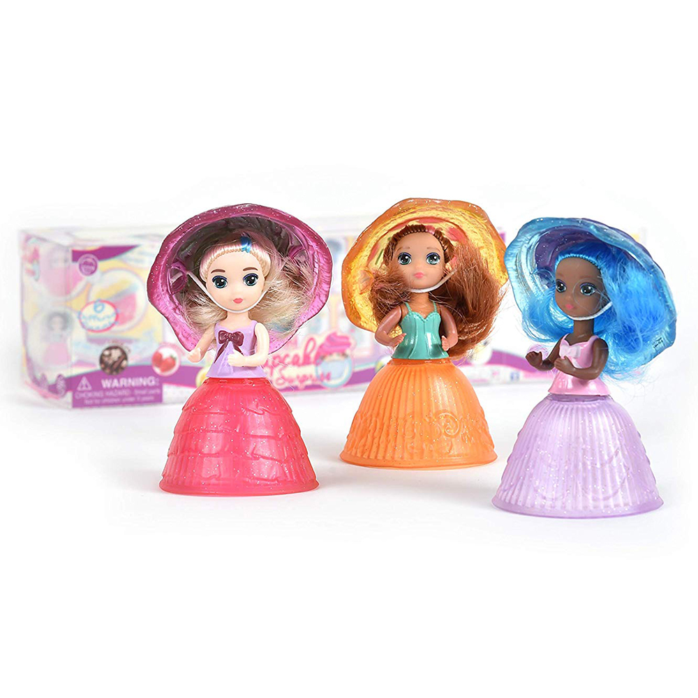 Picture of Mini Cupcake Surprise Doll (3-Pack)