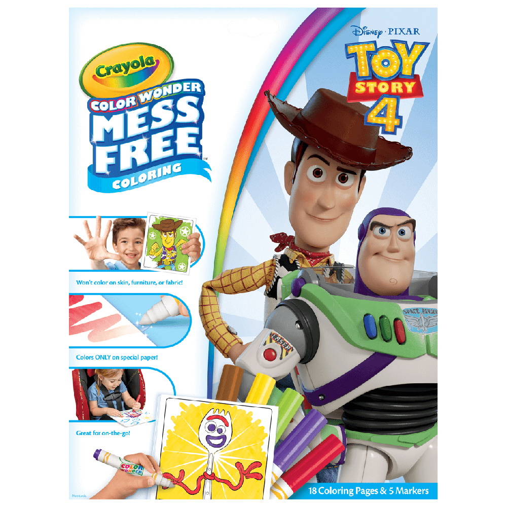 Picture of Crayola Colour Wonder Mess Free Colouring: Toy Story 4