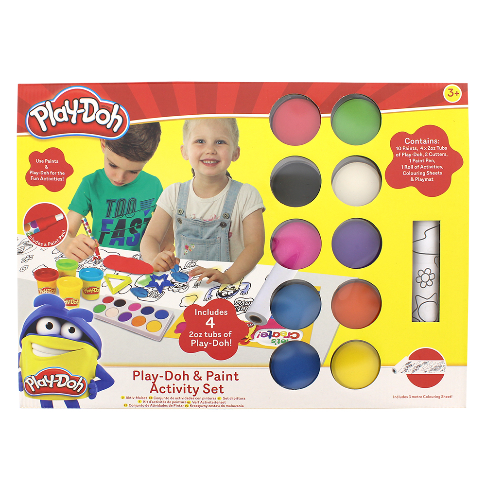 Picture of Play-Doh: Paint & Play-Doh Activity Set