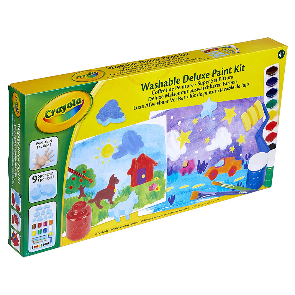 Picture of Crayola Washable Deluxe Paint Kit