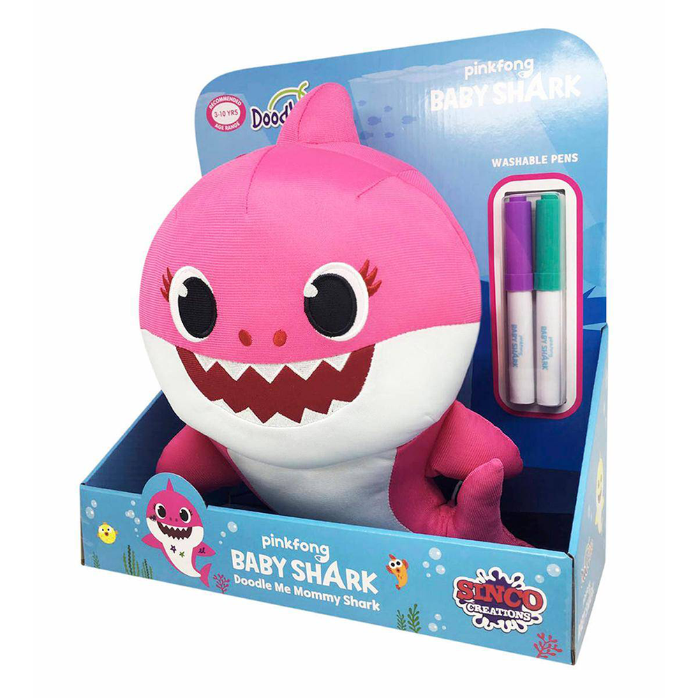 Picture of Baby Shark Doodle Me Plush