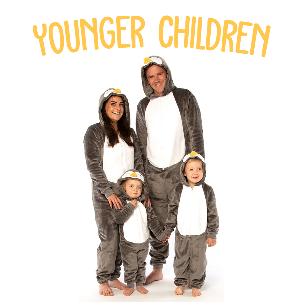 Picture of NSPCC Younger Children's Penguin Onesie