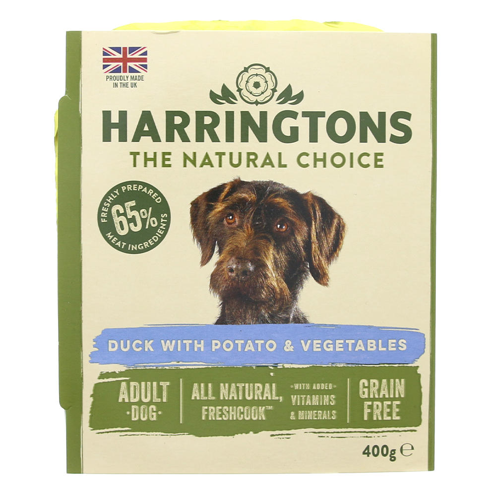Picture of Harringtons Duck with Potato &  Vegetables - Grain Free (8 x 400g)