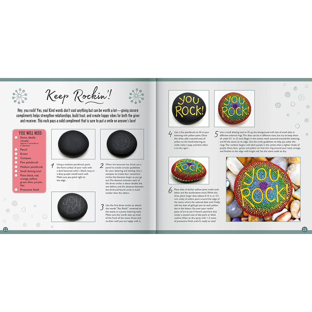 Picture of Paint Your Own Positivity Rocks